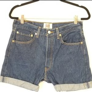 Levi's 501 straight leg cut off button fly size 30